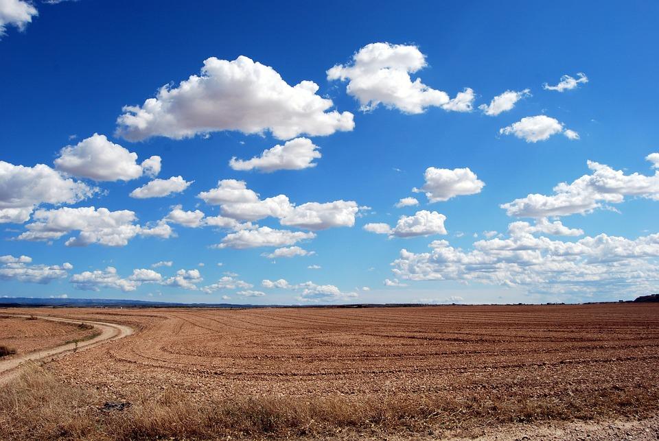Pole, Chmury, Niebo, Rolnictwo, Horyzont, Orka, Słabe