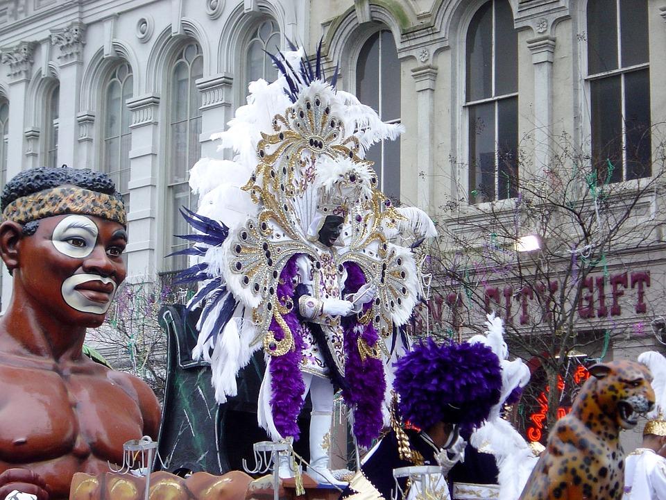 Zulu king mardi gras
