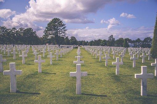 Graveyard, Military, Cemetery, War