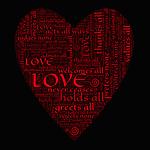 heart, love, affection