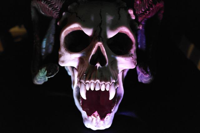 Free Photo Skull, Demon, Monster, Shadow - Free Image On -8987