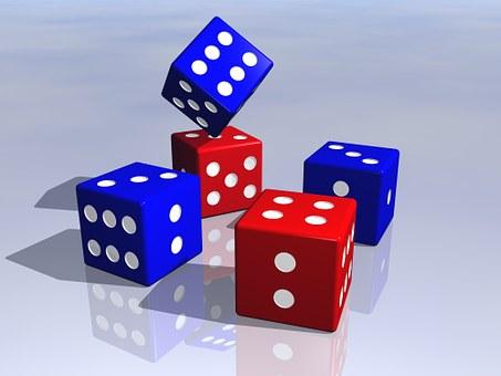 Dice, Gaming, Game, Luck, Gambling