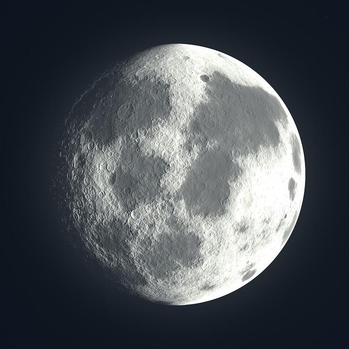 Fabuleux Illustration gratuite: Pleine Lune, Lune, Nuit, Hell - Image  OE21