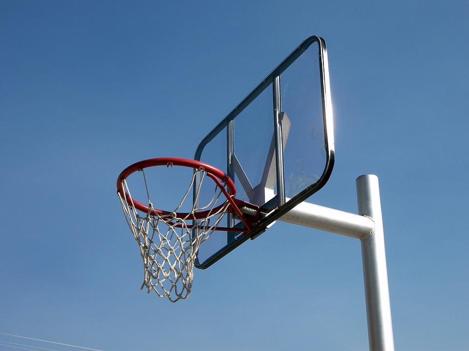 This portable basketball system from Lifetime Products features a 52