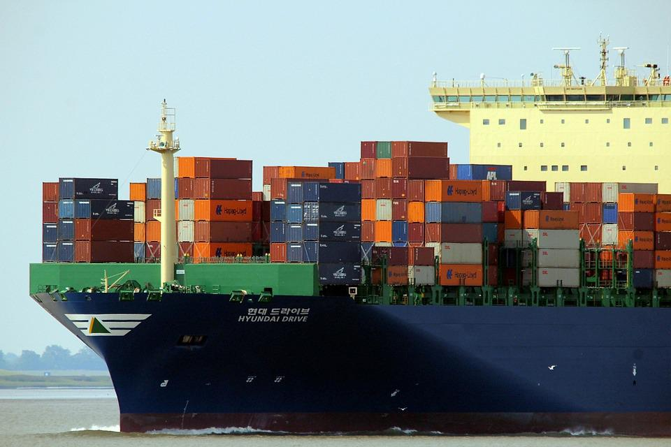 Container, Ship, Container Ship, Charge, Freighter