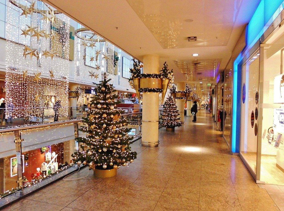 shopping center floor christmas decorations office decor for pongal6 decor