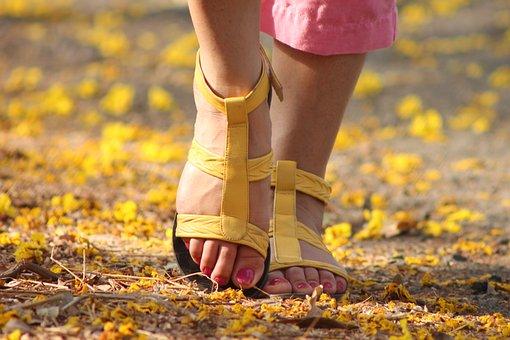 Ältere Frauen Füße Bilder