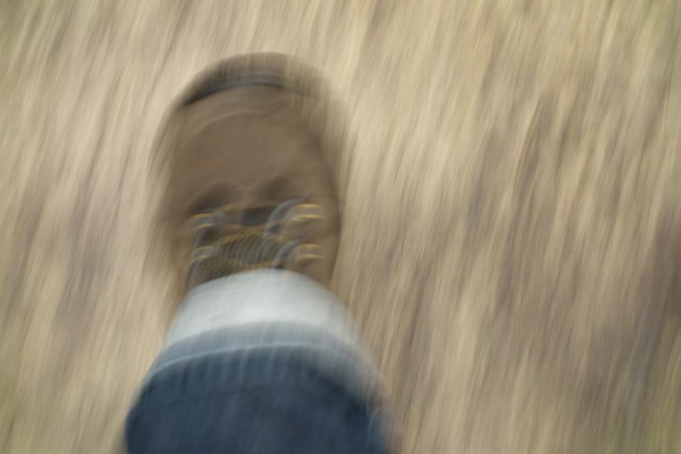 Pied, Chaussure, Course, Évasion, La Peur, Attaque