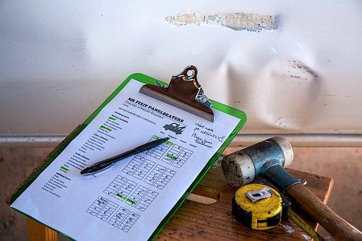 保険, 損傷, 修理, チェックリスト, 二重引用符, 費用見積, スケジュール