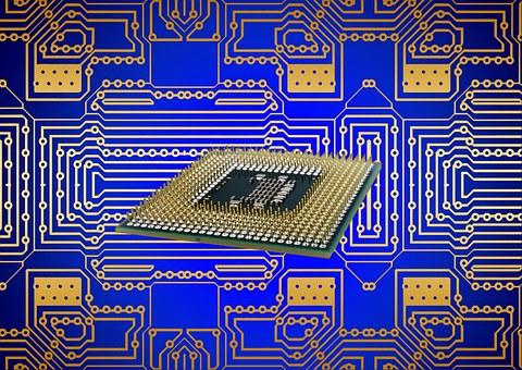 Processor Cpu Board Circuits Calculat