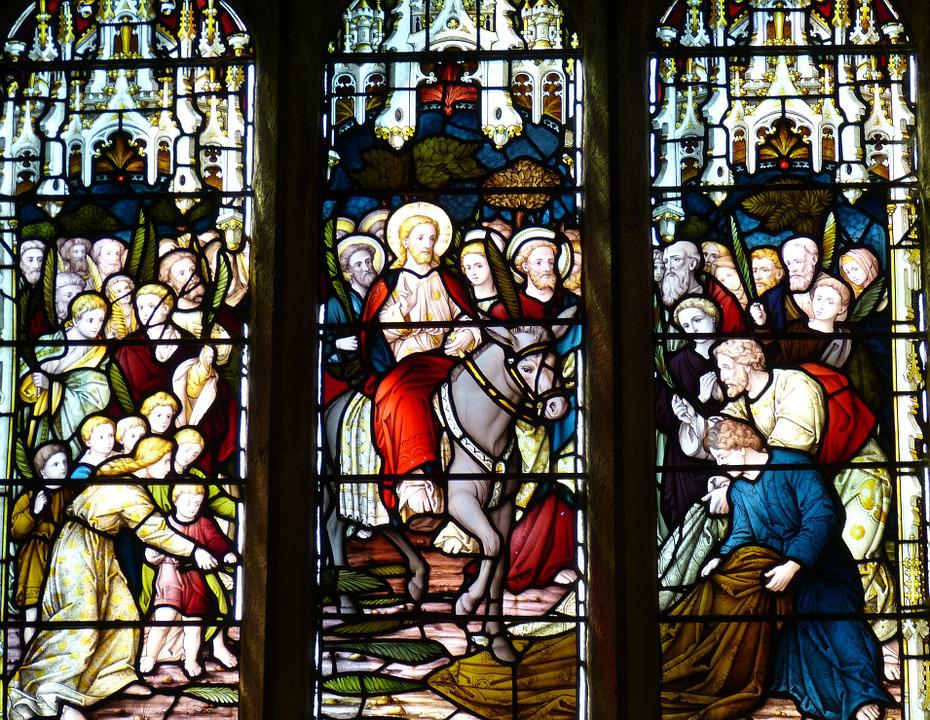 Church Window, Church, England, Image, Christianity