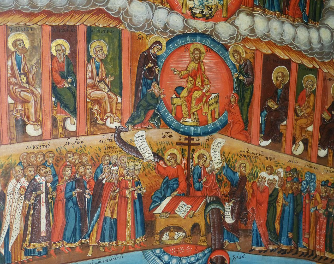 Какие иконы при порче в церкви