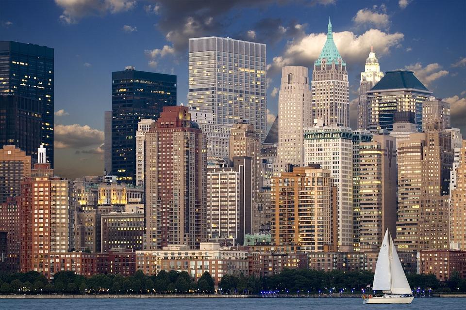 ニューヨーク スカイライン マンハッタン , Pixabayの無料写真