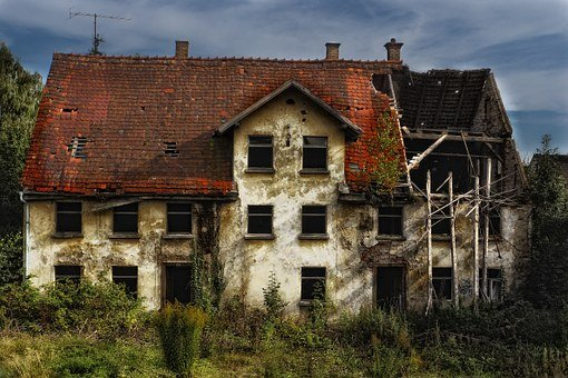 Ruin, Old House, Decay, Old, Building
