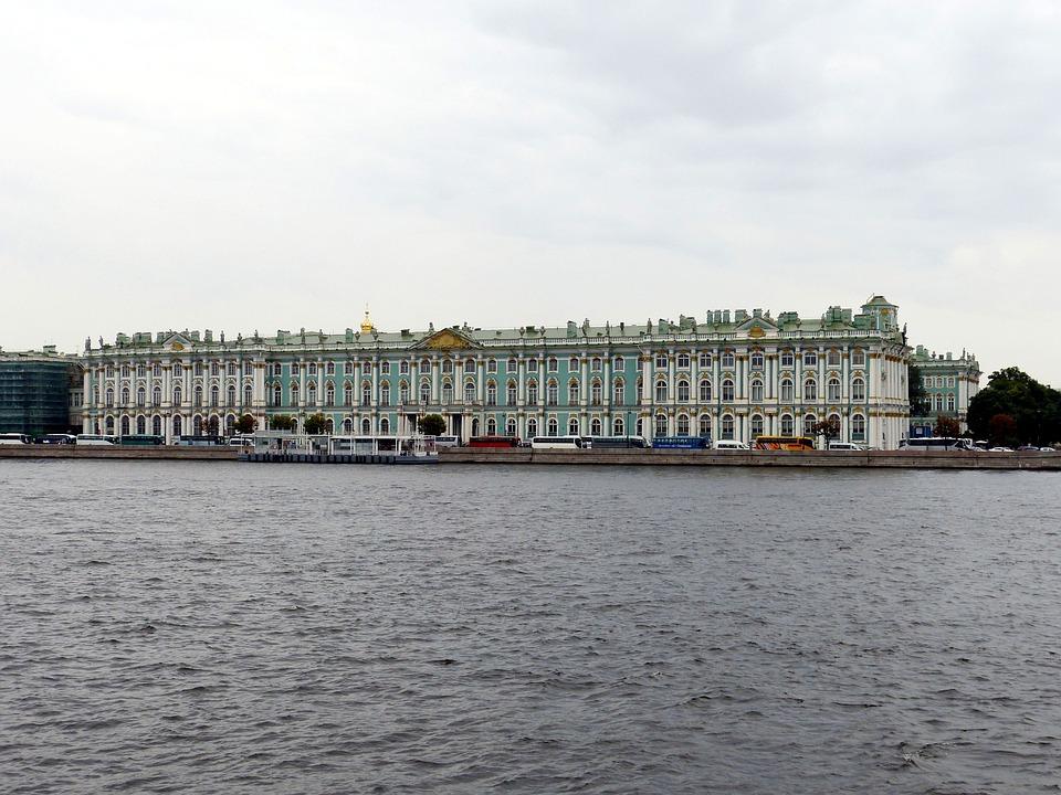 Vinterpaladset St Petersburg Gratis Foto På Pixabay