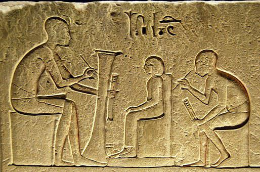 Hieroglyphs, Writing, Egyptian, Scribe