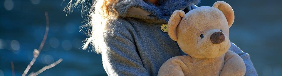 Child, Bear, Teddy Bear
