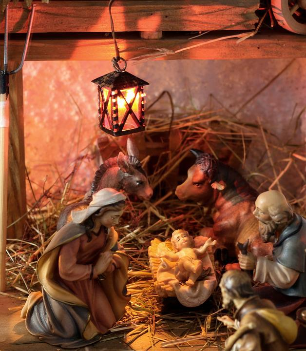 Bilder Krippe Weihnachten.Krippe Weihnachten Christkind Kostenloses Foto Auf Pixabay
