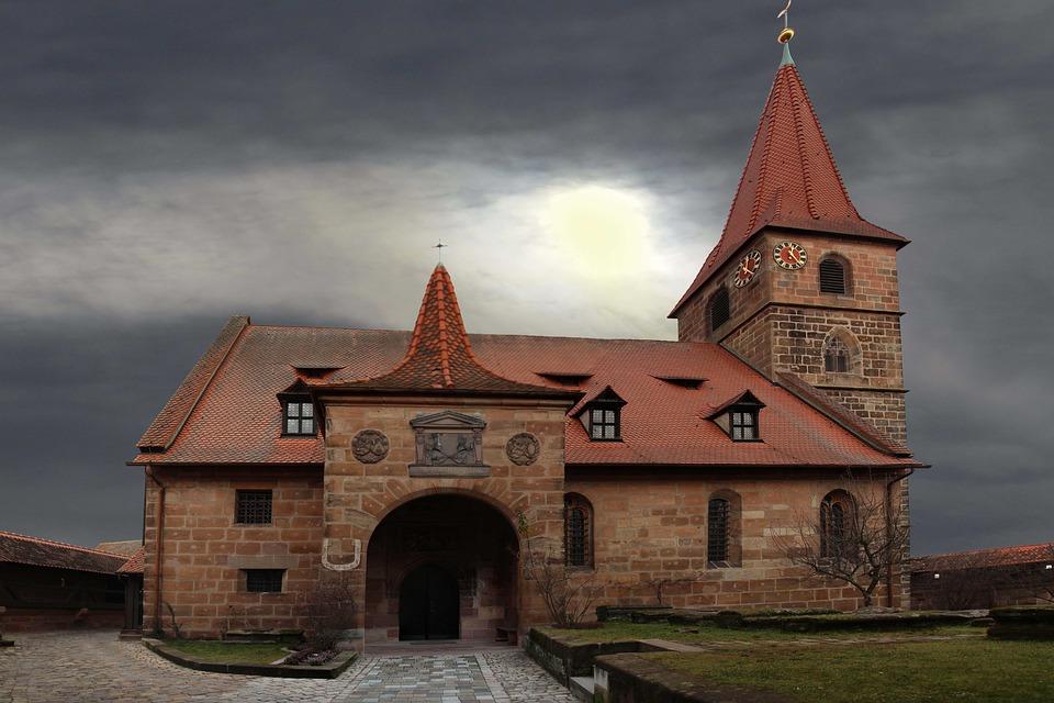 Iglesia, Edad Media, Iglesia Fortificada, Nuremberg
