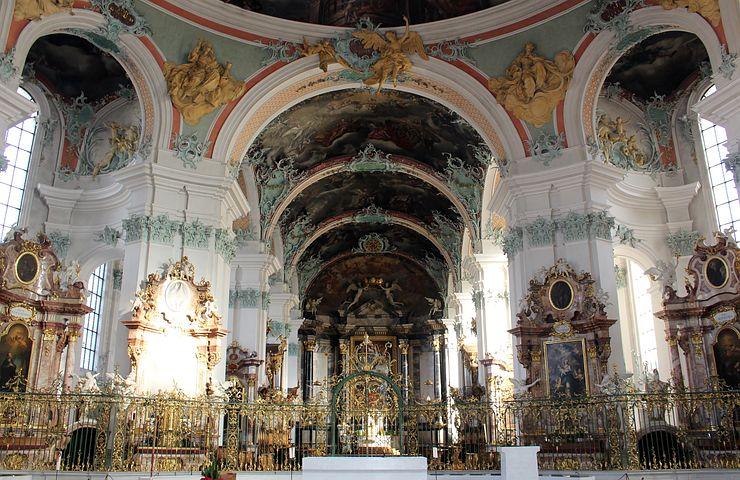 Gallen Katedralen St, Collegiate Church