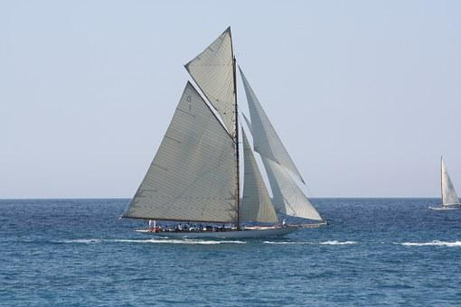 Sailboat Old Rig Regatta Sailboat Sai