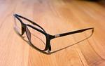 glasses, black