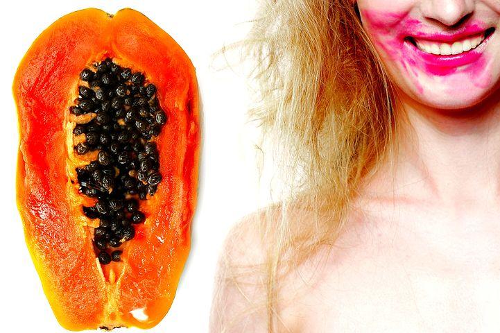 Papaya for face pack, Girl, Tropical, Fruit, Female