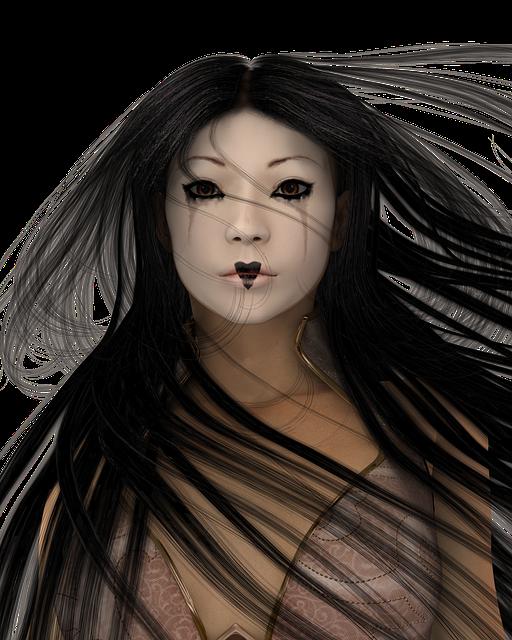 Free Illustration Woman Make Up Head Eye Beauty