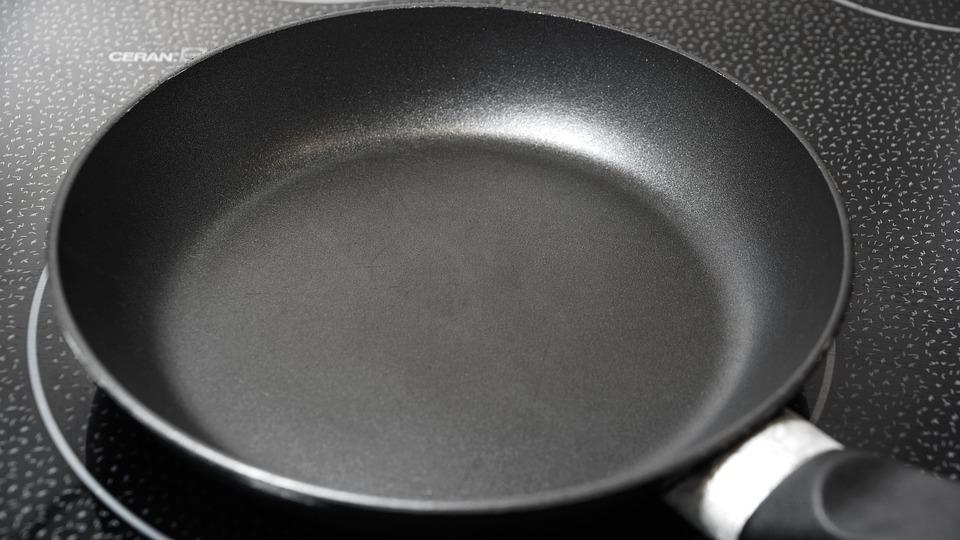 Pan, Kitchenware, Teflon, Utensil, Empty, Cooking