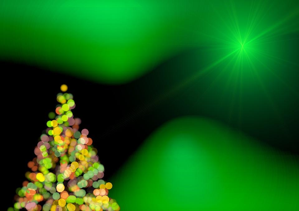 Ilustraci n gratis rbol de navidad verde estructura for Arbol navidad verde