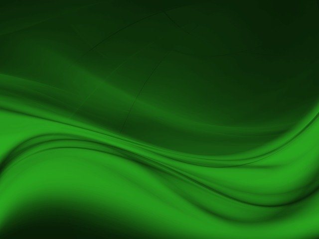 free illustration  green  abstract  wave  shiny - free image on pixabay