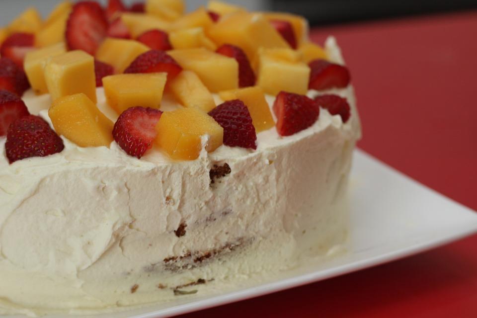 Kuchen Obst Backen Kostenloses Foto Auf Pixabay