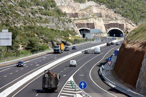 Autopista, Carretera, Autovía, Coche