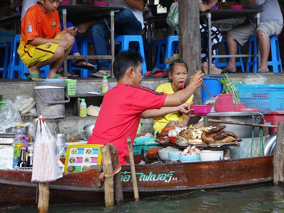 Free photo: Damnoen Saduak Floating Market - Free Image on ...