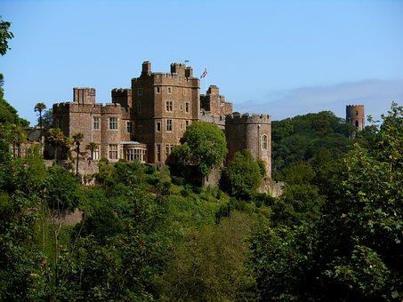 Vista Castillo Dunster Inglaterra