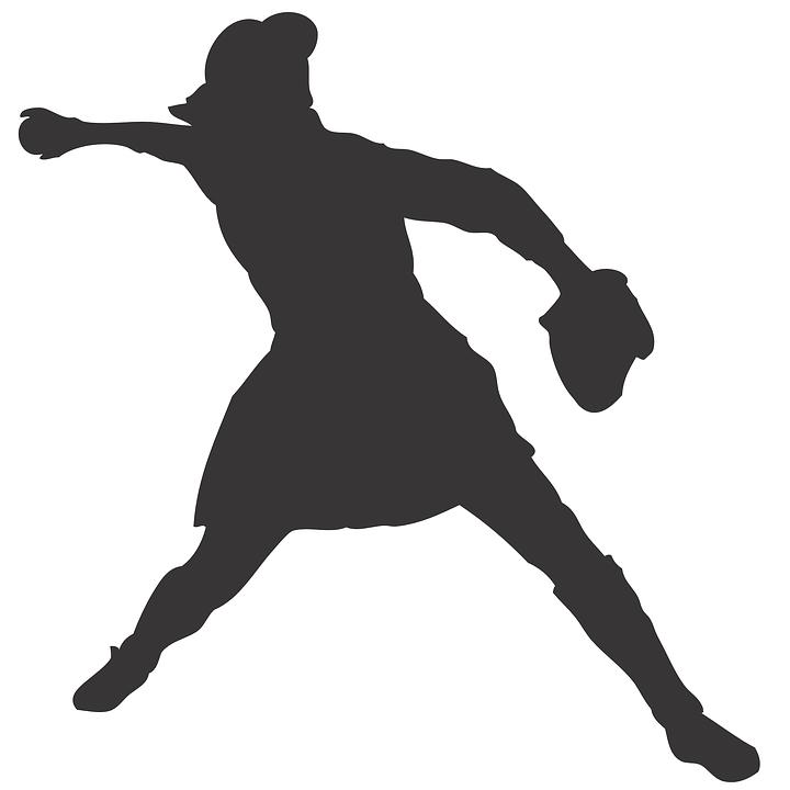 free vector graphic throw  throwing  woman  baseball baseball glove and ball clipart baseball glove and ball clipart