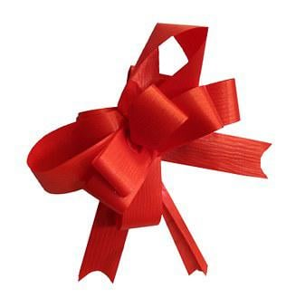 Loop, Red, Christmas, Decoration, Gift