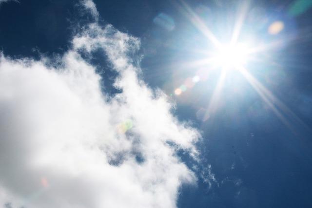 free photo  sunburst  sky  cloud  nature  light