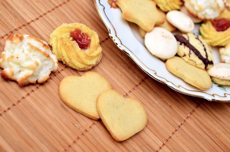 クッキー, ペストリー, お菓子, ショートブレッド, クリスマスのクッキー, 各種, 各種クッキー
