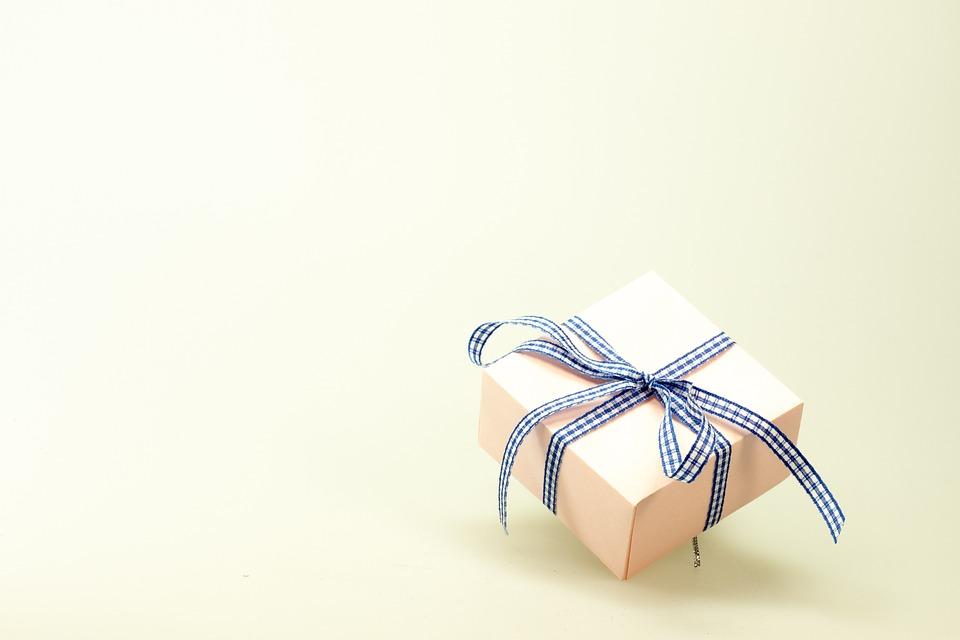 Cadou, Făcut, Surpriză, Buclă, Crăciun, Ambalaj