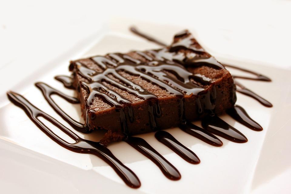 Brownie, Dessert, Cake, Sweet, Delicious, Brown, Snack