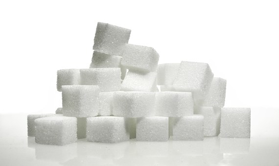 Lump Sugar Sugar Cubes Sweet Food White Su