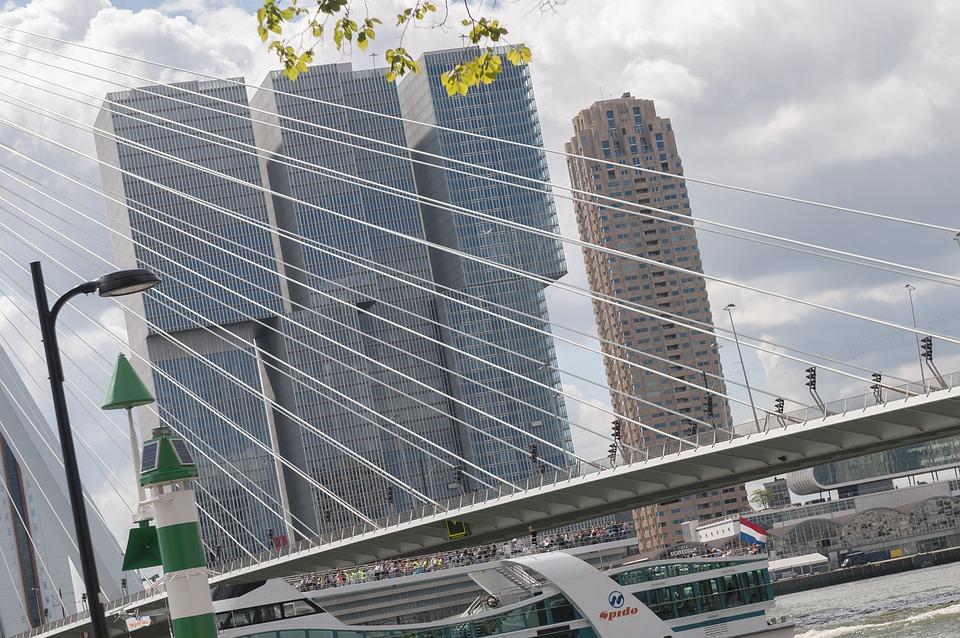 Ufficio Erasmus Architettura : Rotterdam ponte erasmus ufficio · foto gratis su pixabay