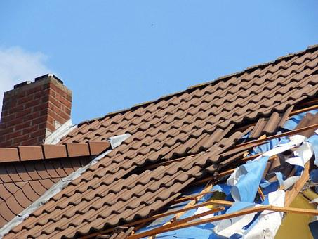 Forward Storm Damage Roof Roofing Tiles Ti