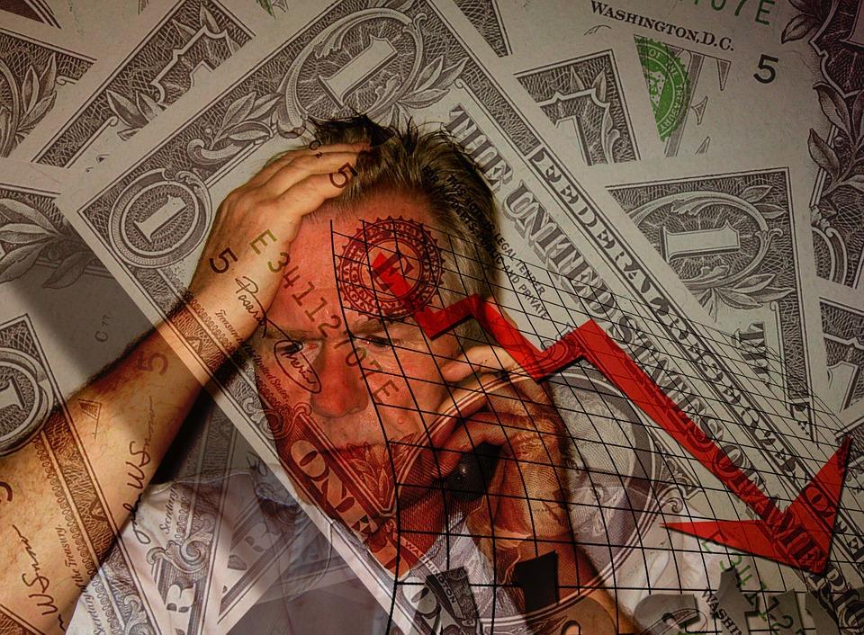 男, 顔, 携帯電話, 絶望, 一八六九, ショック, 手, 式の, Dollar, お金