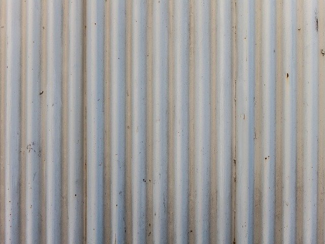 Free photo: Corrugated, Iron, Fence, Roof - Free Image on ...