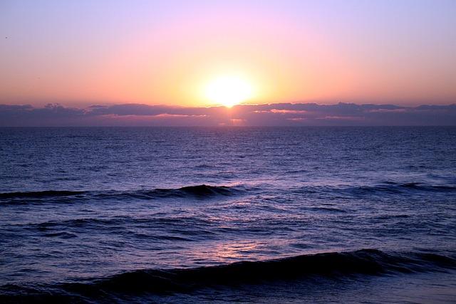 Free Photo Sunrise Sea Morning Ocean Wave Free