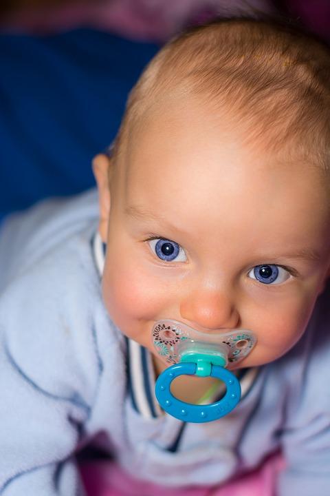 Baby, Мальчик, Малых, Лицо, Ребенка, Портрет