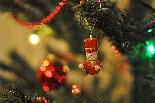 Navidad, Ornamento, Árbol De Navidad