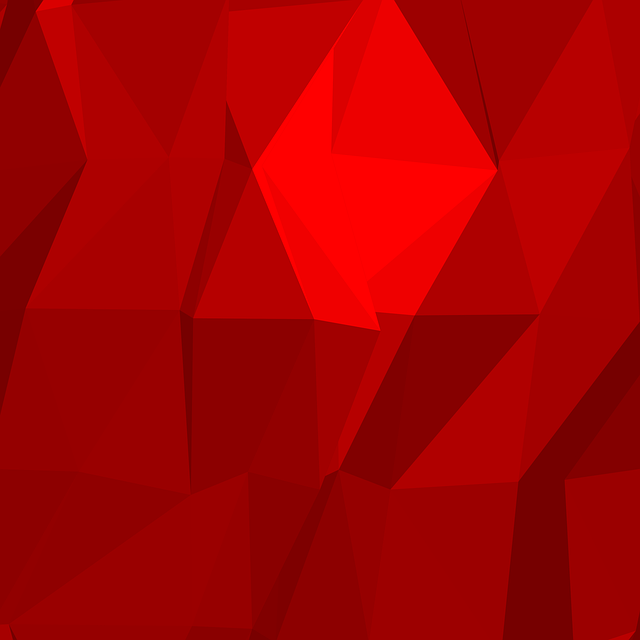 Polygons Abstract Red 183 Free Image On Pixabay